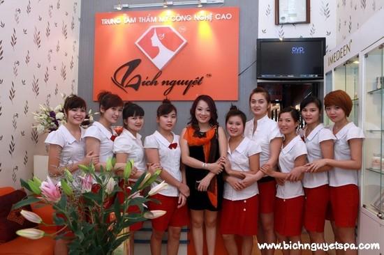 Thẩm mỹ viện Hà Nội,Thẩm mỹ viện Bích Nguyệt,Trung tâm thẩm mỹ công nghệ cao