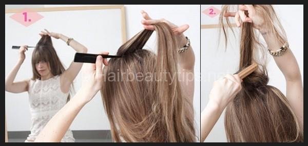 kieu bui toc lech tuyet xinh cho mua he 2 Kiểu búi tóc lệch tuyệt xinh cho mùa hè