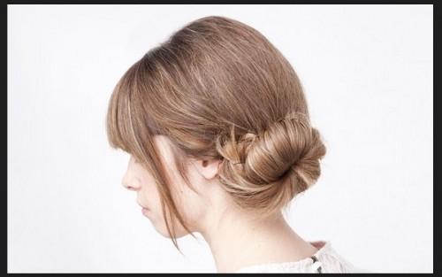 Kiểu búi tóc lệch tuyệt xinh cho mùa hè