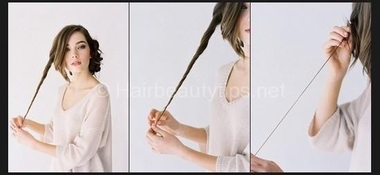 kieu toc bui cao sang trong 1 Kiểu tóc búi cao sang trọng
