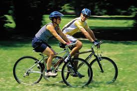 Giảm béo bụng bằng cách đi xe đạp