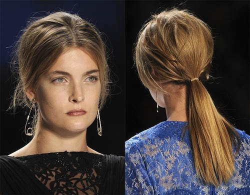 6 bien tau thoi thuong cho toc duoi ngua mua he 6 kiểu tóc đuôi ngựa phổ biến trong mùa hè 2013