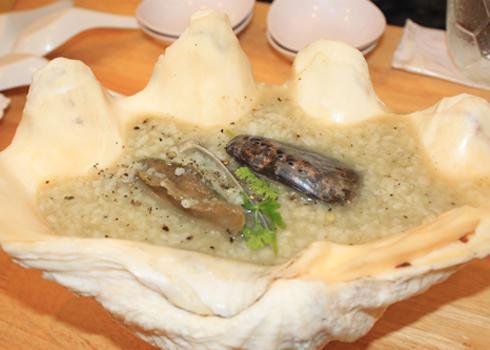 Đây là món ăn cao cấp nhưng rất bổ dưỡng cho sức khỏe. Ảnh: Khánh Hòa.