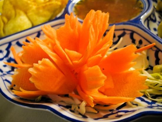 Cà rốt được xem như loại kem đánh răng tự nhiên vì nó giúp răng miệng sạch. Ảnh: internet