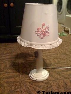 đèn trùm, cách làm, cực hot,lấp,lánh,handmade,diy,mẹo vặt,hoa hồng,valentine,lãng mạn