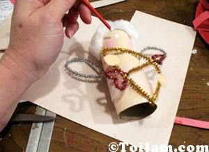 Cách làm,hướng dẫn,thiên thần,bằng ,giấy,tái chế,diy,handmade