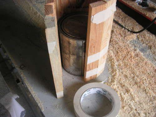 cách làm ly bằng gỗ cực yêu bước 2