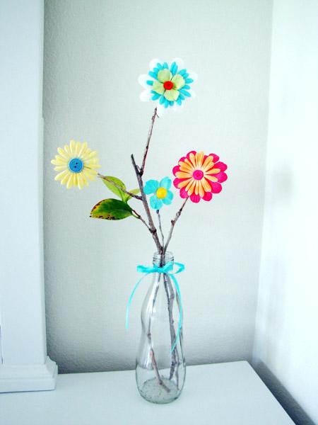 Cách làm hoa giả trang trí không tàn héo