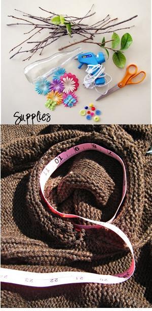 Cách làm hoa vải không tàn héo từ vải vụn
