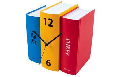 Cách làm đồng hồ trong sách , sách trong đồng hồ