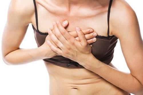 Các triệu chứng phổ biến nhất của cơn đau tim thường thấy như đau ngực.