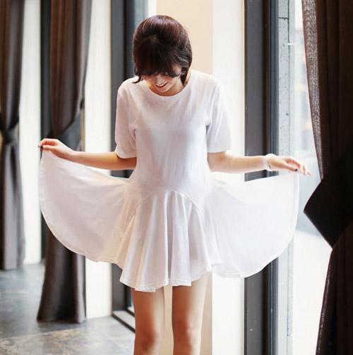 Dự tiệc cưới quyến rũ với váy trắng, Bí quyết mặc đẹp, Thời trang, mac gi di an cuoi, mac gi du tiec cuoi, mac vay di an cuoi, thoi trang, thời trang, thoi trang tre