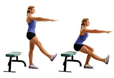5 động tác giúp eo nhỏ, chân thon