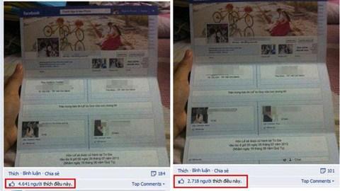 Thiệp cưới facebook độc, lạ thu hút cả ngàn like