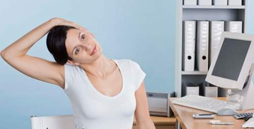 Bài tập vùng đầu cổ giúp thư giãn