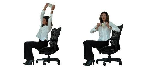 Bài tập thể dục tại chỗ cho người bận rộn