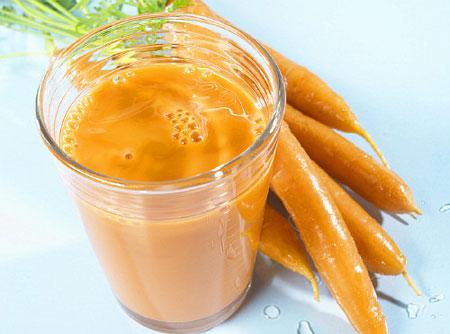 Cách chăm sóc da từ cà rốt
