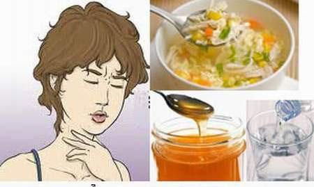 Những thực phẩm nên và không nên dùng khi bị viêm họng 1