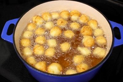 Zeppole - Bánh rán mini của người Ý 9