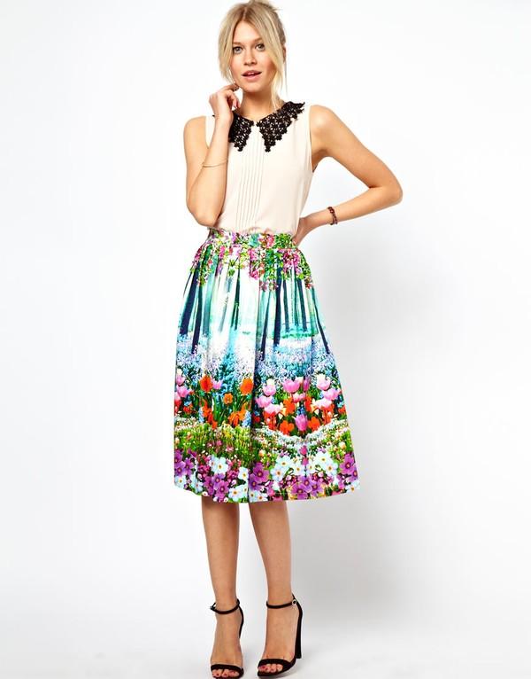Chọn váy hè hợp với từng dáng người 8