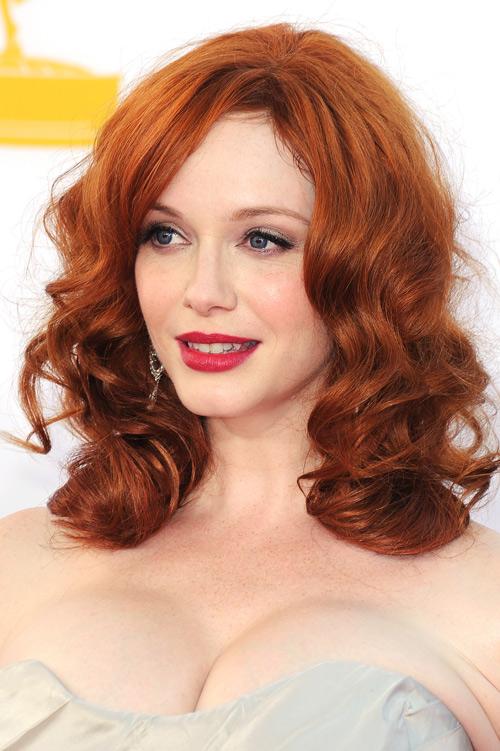 tóc đỏ, trang điểm hợp màu tóc đỏ