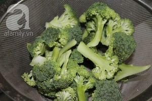 Giòn ngọt ngon cơm với bông cải xanh xào cật heo 4