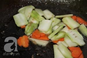Giòn ngọt ngon cơm với bông cải xanh xào cật heo 10
