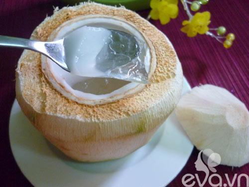 Làm thạch dừa trong veo mát lịm - 8