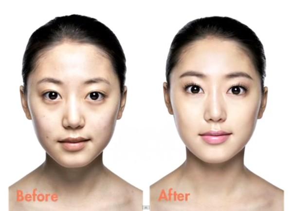 Trang điểm cho khuôn mặt mí mắt lồi đẹp như Kim Tae Hee 15