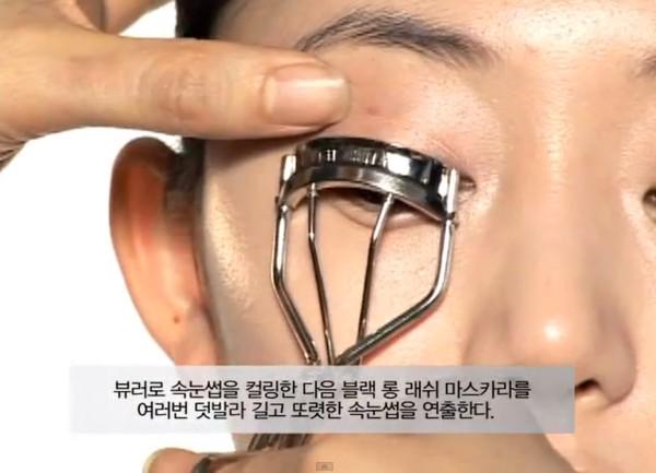 Trang điểm cho khuôn mặt mí mắt lồi đẹp như Kim Tae Hee 10