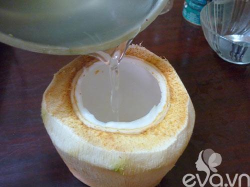 Làm thạch dừa trong veo mát lịm - 4