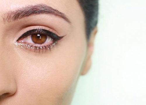 3 cách đánh mắt với ánh nhũ 2