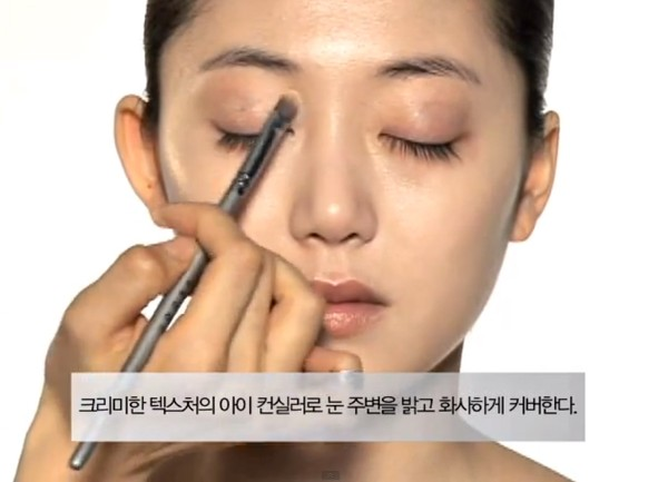 Trang điểm cho khuôn mặt mí mắt lồi đẹp như Kim Tae Hee 6