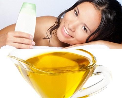 làm đẹp bằng dầu oliu 2