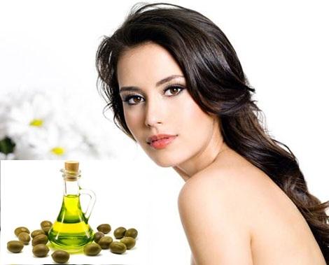 làm đẹp bằng dầu oliu
