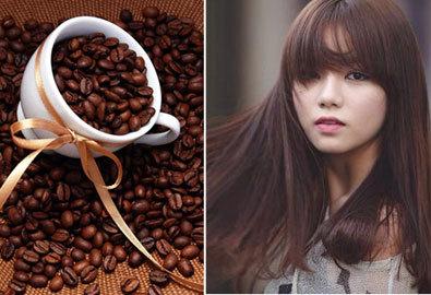 cà phê nhuộm tóc