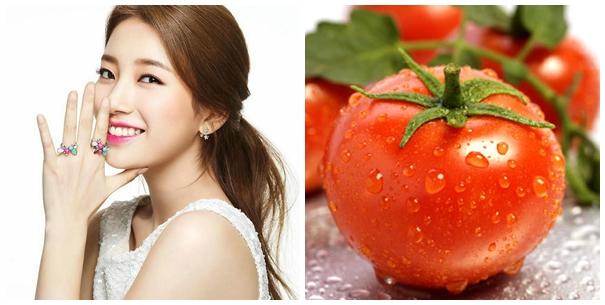 làm đẹp nhờ cà chua