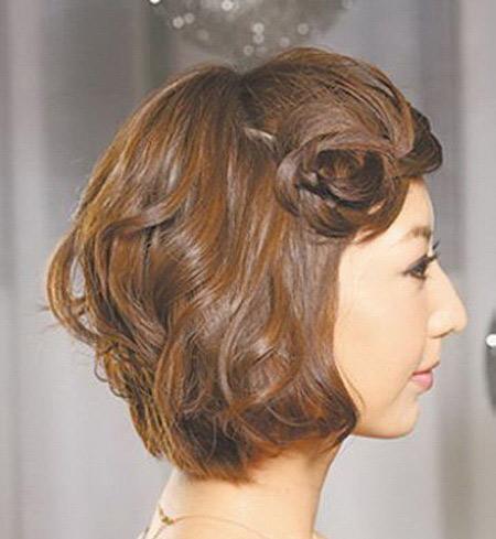 làm điệu với tóc ngắn
