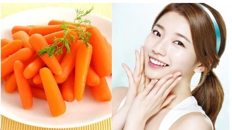 làm đẹp nhờ cà rốt