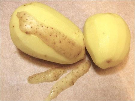 làm đẹp với khoai tây