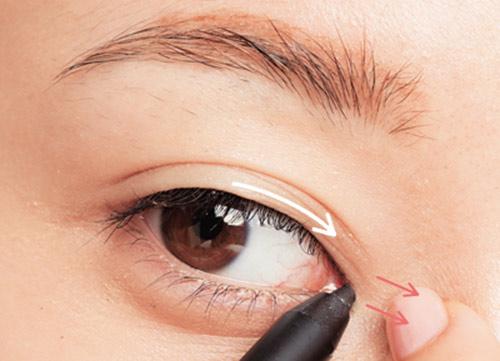 trăng điểm mắt
