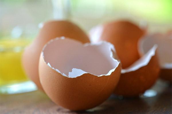 vỏ trứng làm đẹp