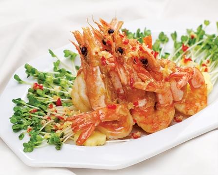 hải sản giảm cân