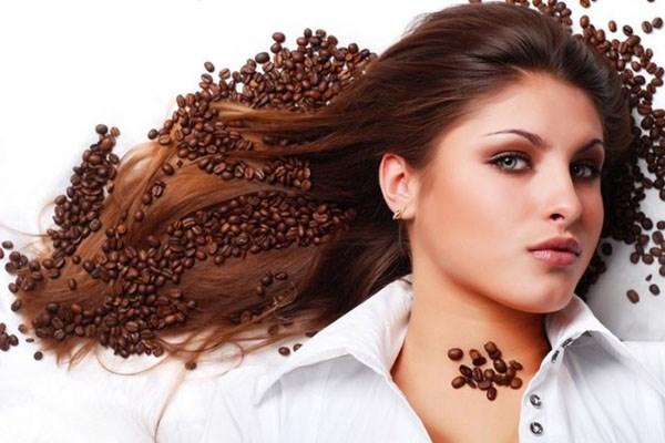 nhuộm tóc với cà phê