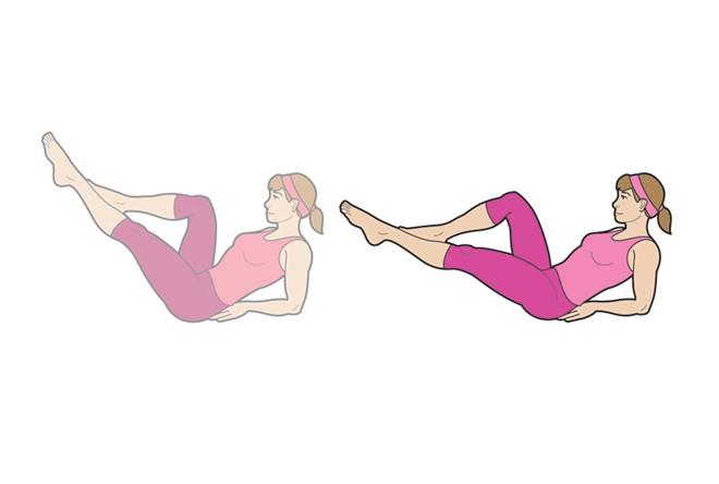 bài tập giảm mỡ bụng