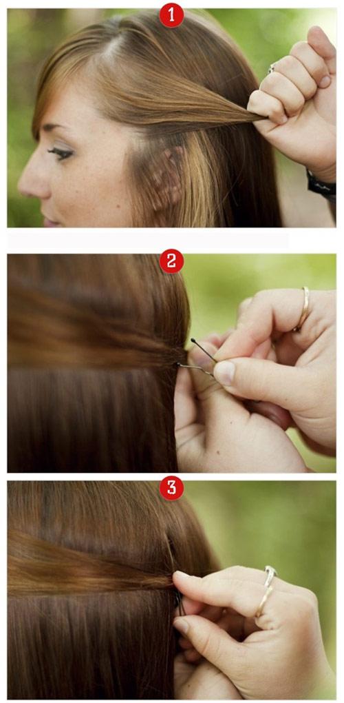 tạo kiểu tóc