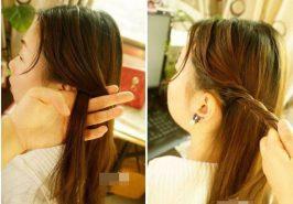 3 kiểu tóc đơn giản mà đáng yêu ngày xuân