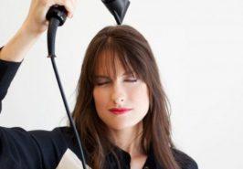 Làm sao để giữ nếp tóc mái bằng lâu bền?