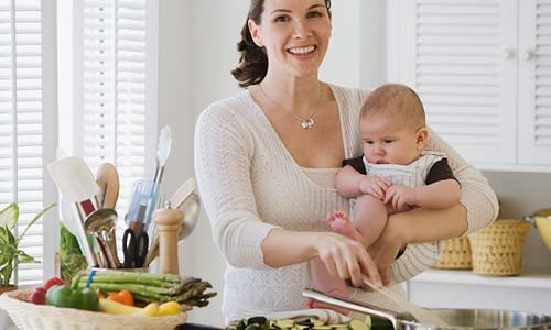 Thực đơn giảm cân cho phụ nữ sau sinh