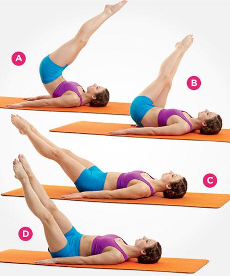 9 động tác Pilates đơn giản giúp thu nhỏ eo